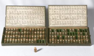 A homeopathic medicine-chest from the turn of the 18th and 19th centuries